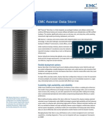 H3454 EMC Avamar Datastore - Specification Sheet