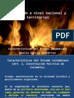 El Estado a Nivel Nacional y Territorial EGG I