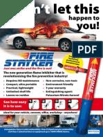 Fire Stryker A1 Poster - Car Fire extinguisher