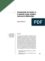 10. Caracterizacion Docente en Educ Virtual