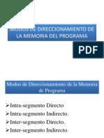 02_Modos de Direccionamiento de La Memoria de Programa
