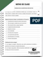 Nota de Clase 98 Analisis de Riegos en La Gestin de Proyectos