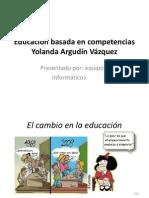 Argudín_Educación basada en competencias
