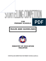 storytelling rules primary school