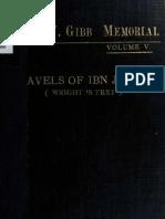 رحلة ابن جبير-طبعة بريل 1907