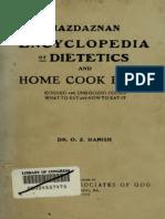Mazdaznan Cookbook
