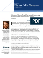 New Report Shows Legal Cannabis is a Success in Colorado