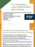 Estructuras de Ficheros - Tema4