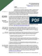 OPT Document