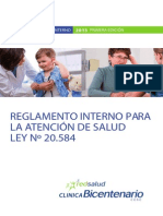Reglamento Interno Clinica