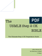 USMLE Step 2 CK Bible 2nd Ed