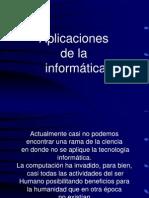 Aplicaciones de La Informatica