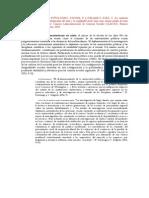 La Revolución Contemporánea Del Saber y La Complejidad Social. Sotolongo P. y Delgado C.