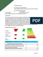 Study of Measures of Improvement