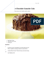 Betty Crocker-Chocolate Ganache Cake