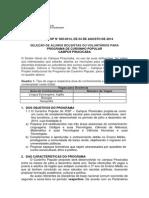Edital de Seleção Dos Discentes Bolsistas Ou Voluntários Do Cursinho Popular (1)