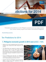 Top 10 Predictions for 2014 Philippines