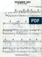 december 1963 sheet music pdf