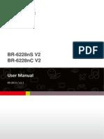 BR-6228nS V2 NC V2 Manual