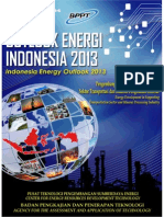 BPPT - Outlook wrEnergi Indonesia 2013