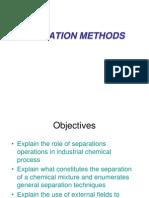 Separation Methods