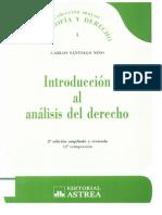 Introducción Al Análisis Del Derecho - Nino