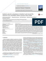Synthetic Phenolic Antioxidants to Biodiesel