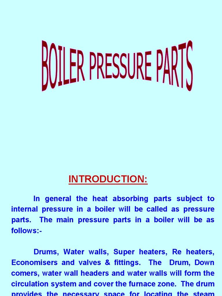 Boiler Pr. Parts | Boiler | Furnace
