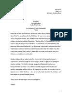 Informed Reading Essay
