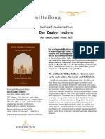 Der Zauber Indiens - Aus dem Leben eines Sufi - Pressemitteilung