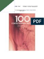 Taschen 100 ContemporaryArtists 2009