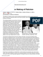 Jinnah and the Making of Pakistan