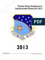 Florida Wing History Report (2013)