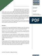 Previsiones Macro Saxo Bank