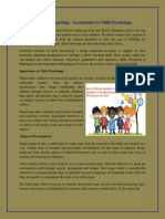 Preschool Learning - Accordance to Child Psychology