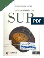 Boaventura de Sousa Santos. Una Epistemología Del Sur