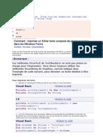 imprimer un fichier texte composé de plusieurs pages dans les Windows Forms