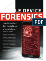 Josh Moulin - Interviewed by GCN About Mobile Forensics