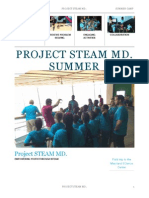 Project STEAM Summer Camp Photo Journal