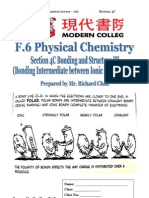 Section 4C Bonding and Structure III (Intermediate Type of Bonding)