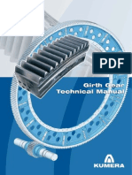 Kumera Girth Gear Technical Manual
