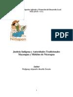 Justicia Indígena y Autoridades Tradicionales Mayangnas y Mískitus de Nicaragua