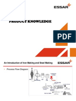 Product Knowledge Essar Metals