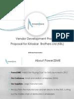 Power2SME Proposal KBL