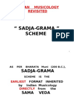 SADJA-GRAMA- INDIAN MUSICOLOGY REVISITED