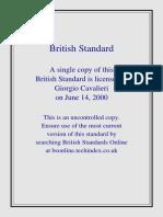 BS8666 2000(Spec for Cutting Reinforcement)