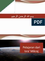 Hikmah Isra Mikraj
