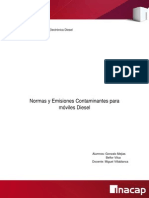 Informe Normas y Emisiones Contaminantes Motor Diesel