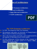 Types of DSP Architectures