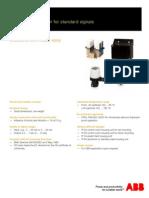 TEIP 11-PS ABB I-P Conveter Manual